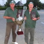 Jacky Courset et André Perrot Champions doublette vétéran