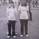 Les soeurs Norcy championnes du Morbihan de pétanque 1980