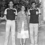 Pierre Yves Le Gouariguer et Marc Le Goff au France doublette senior 1980
