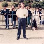 Pierre Yves le Gouariguer au championnat de France TaT à Brest 1988