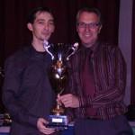 Meilleur club cadet 2007, le trophée remis par le CD56 de pétanque