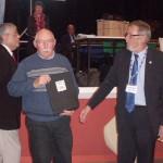 Norbert Le Bellour et la récompense du meilleur club vétéran 2011