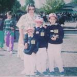 Minimes du Morbihan au France Triplette Pétanque à Angers 1992