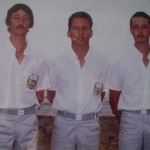 Les frères Stéphant et PY Le Gouariguer au France Triplette Pétanque à Bastia