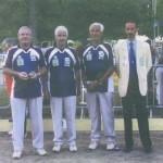 Champions du CD56 vétéran au France pétanque 2003