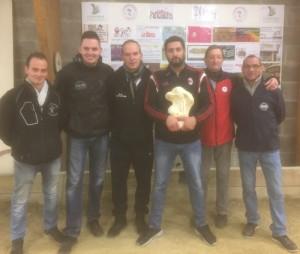 finalistes coupe de noel de pétanque 2016 à Lanester